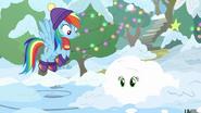 K20 Applejack pokryta śniegiem