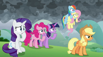 Mane Six worried about Spike S9E25