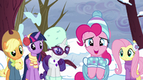 """Pinkie overjoyed """"you're using the word!"""" S5E5"""