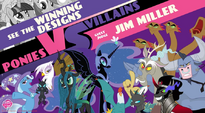 Ponies vs. Villians - Villains Design Contest WeLoveFine