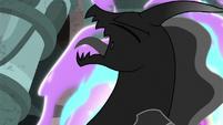 Pony of Shadows shrieking in agony S7E26