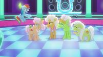 Rainbow Dash impatient -oh, come on!- S8E5