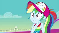 Rainbow Dash looking very hurt EGSB