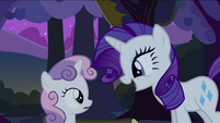 Rarity finds Sweetie Belle S2E05