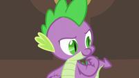 """Spike """"wonder if anypony else needs the princess's help"""" S5E10"""