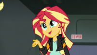 """Sunset Shimmer """"you ARE awesome"""" EG3"""
