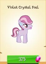 Violet Crystal Foal MLP Gameloft.png
