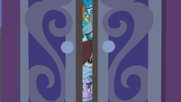 Young Six spying with deep concern S8E25