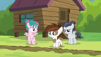 Camper filly trying to sneak away S7E21