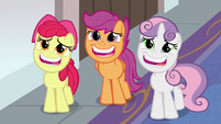 Cutie Mark Crusaders begging Twilight S8E12