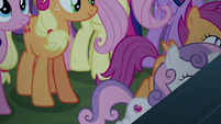 Cutie Mark Crusaders gallop to the stage S5E24