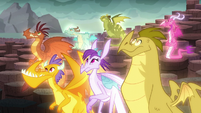 Dragons being apathetic S6E5