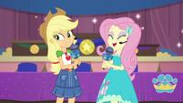"Fluttershy ""thank you, Applejack!"" EGDS36"