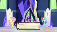 Friendship journal appears on the map table S7E14