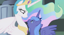 Luna accepting Celestia's friendship S1E02