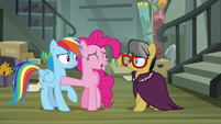 """Pinkie Pie """"if you don't feel like talking about it"""" S7E18"""