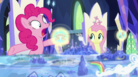 """Pinkie Pie """"when she faced that nasty sphinx!"""" S7E25"""