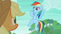 "Rainbow Dash ""sorry, can't hear you"" S8E9"