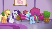Rainbow Dash --not the froufrou kind-- S6E10