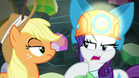 """Rarity """"he usually pulls me closely"""" S9E19"""