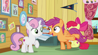 """Scootaloo """"when is she swinging by?"""" S7E6"""