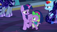 "Spike ""Twilight, no!"" S5E26"