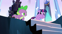 Spike 'Learn to do that' S3E2