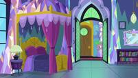 Spike peeking into Twilight's room MLPBGE