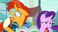 Starlight and Sunburst hate the smoothies S8E8