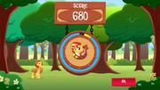 SunsetShimmer Applepicking win MLPMobileApp.png