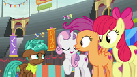 """Sweetie Belle """"take our word for it"""" S9E22"""