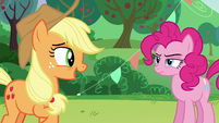 """AJ """"...were the same Coloratura?""""; Pinkie with serious face S5E24"""