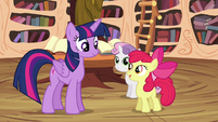 """Apple Bloom """"learn these new skills, Twilight"""" S4E15"""