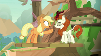 "Applejack ""there's no cure left?!"" S8E23"