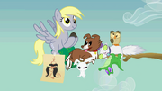 CREW Derpy and animal companions evolutionofascene4