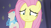 Fluttershy processing Pursey Pink's request S8E4