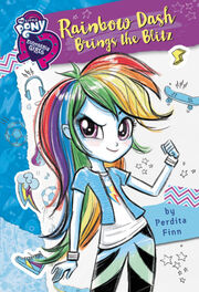 Portada de Rainbow Dash Brings the Blitz.jpg