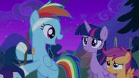 "Rainbow Dash ""I'm doing great"" S6E7"