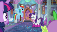 """Rarity """"we wasted our day of fun"""" S8E17"""
