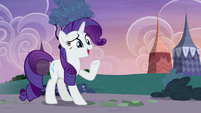 "Rarity pleasantly surprised ""but how?"" S7E9"