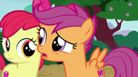 """Scootaloo """"about the dog?"""" S7E6"""