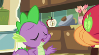 "Spike ""I don't even buy that one"" S8E10"