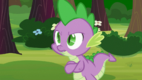 """Spike """"what was that all about?"""" S03E09"""