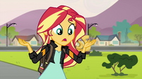 """Sunset Shimmer """"is Equestrian magic on the loose"""" EG3"""