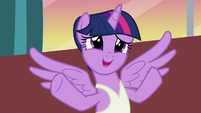 "Twilight ""makes her sister pancakes every morning"" S7E10"