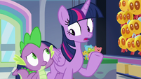 """Twilight Sparkle """"we'd better get to cleaning"""" S7E3"""