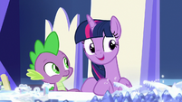 """Twilight Sparkle """"we need to find items"""" S7E25"""