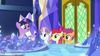 Twilight Sparkle -isn't even in Equestria- S8E6