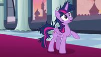 Twilight Sparkle hears Rarity's voice S9E26