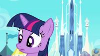 Twilight hearing Spike S3E2